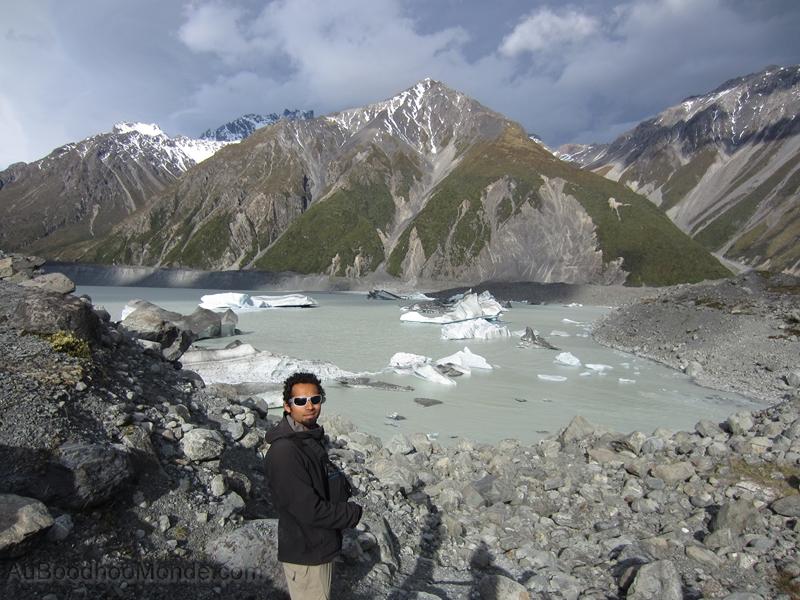 Nouvelle-Zelande - Parc National Mont Cook et Hooker Lake