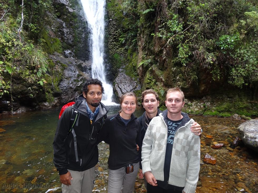 Nouvelle-Zelande Rando Cascade