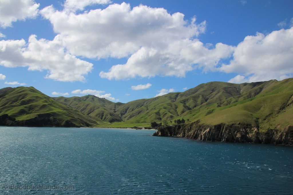 Nouvelle-Zelande -  Vue du ferry
