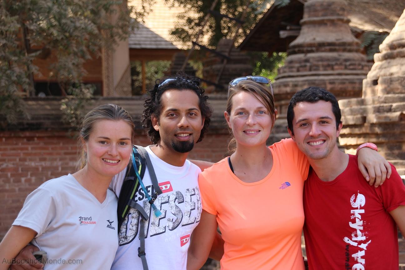 AuBoodhooMonde - Bagan - Tour du monde