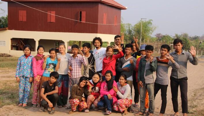 Avec les Enfants du Mékong au Cambodge