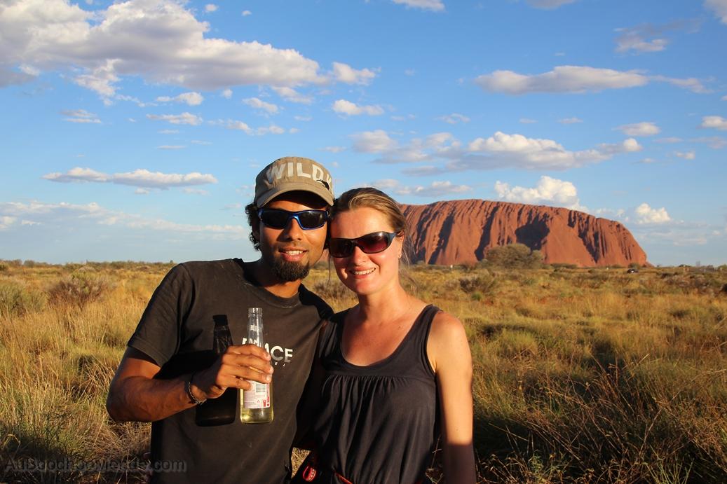 Australie - Uluru de pres