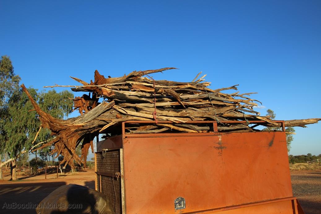 Australie - Bois pour feu