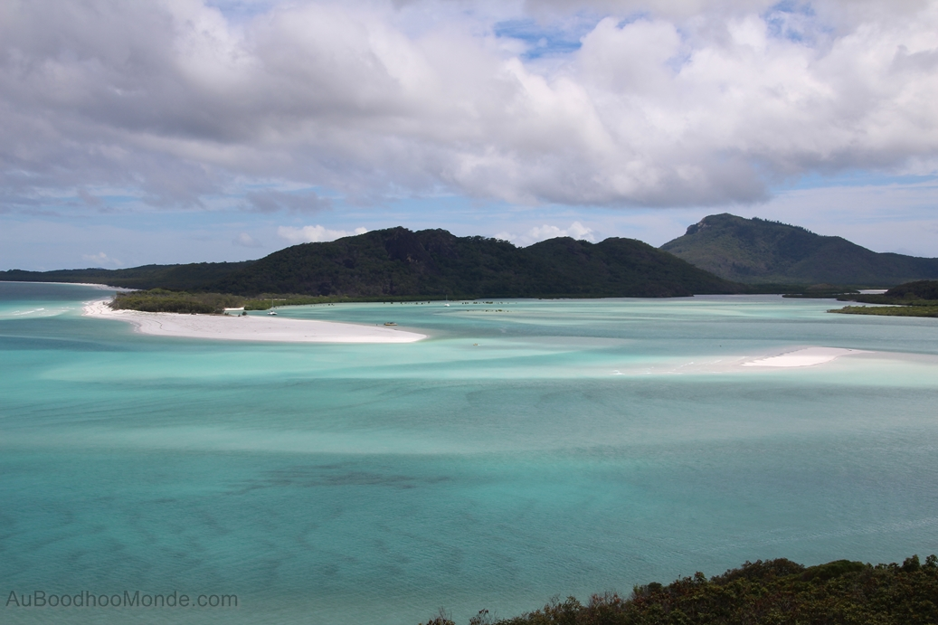 Australie - Hill Inlet lookout Whitsundays