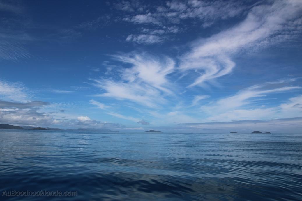 Australie - Sailing to Whitsundays