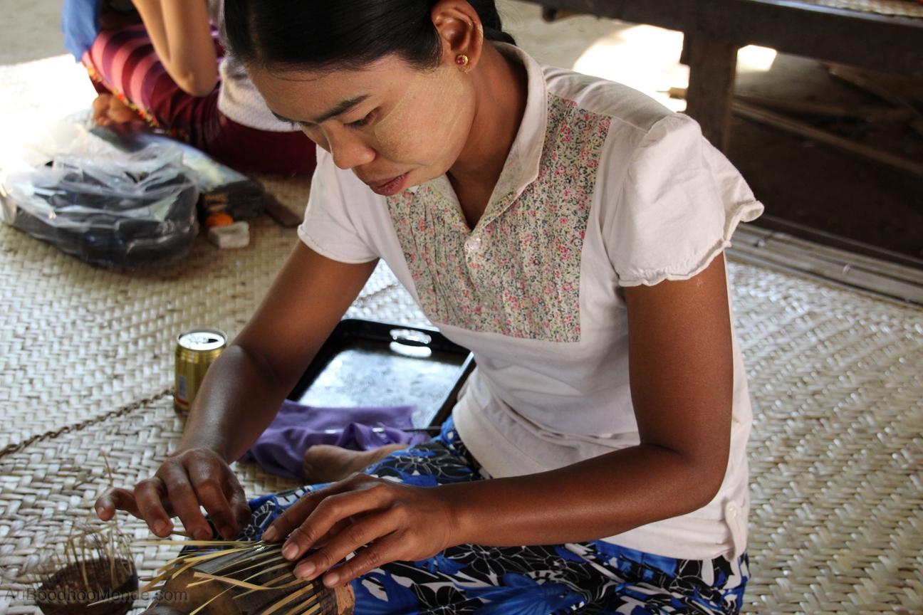 Myanmar - Bagan - Fabrique laques