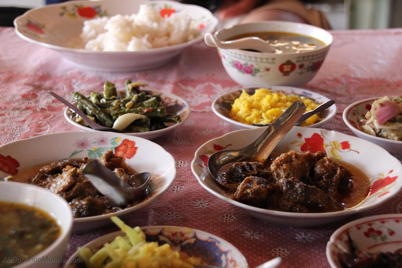 Myanmar - Buffet birman