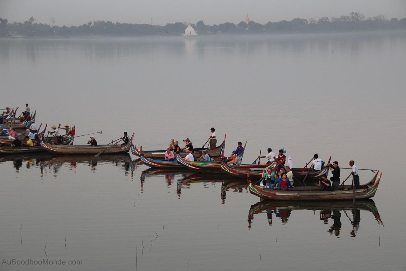 Myanmar - Depuis pont U Bein
