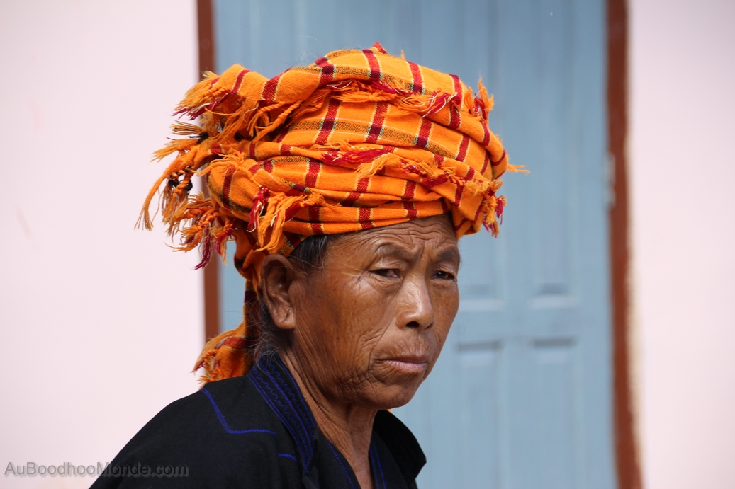 Myanmar - Femme traditionnelle