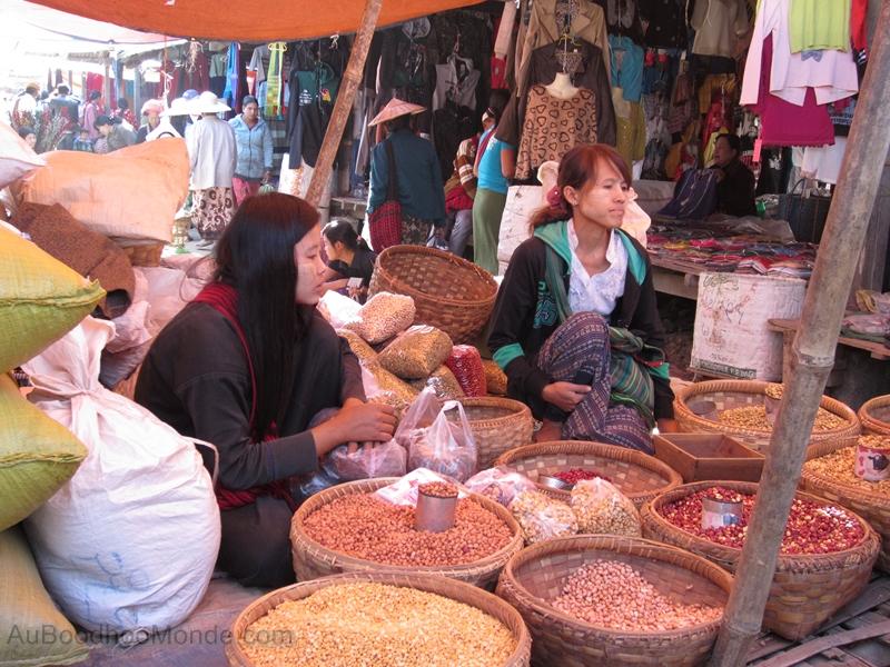 Myanmar - Marche epices