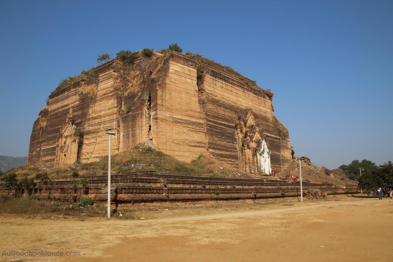 Myanmar - Mingun - Pagode inachevee