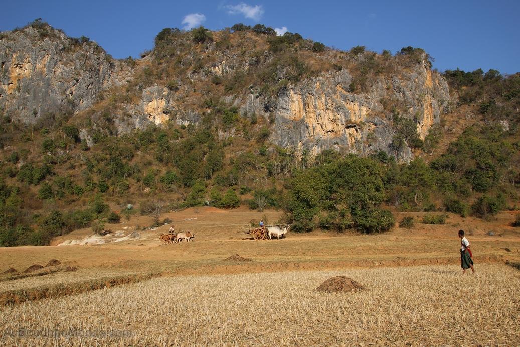 Myanmar - Montagne