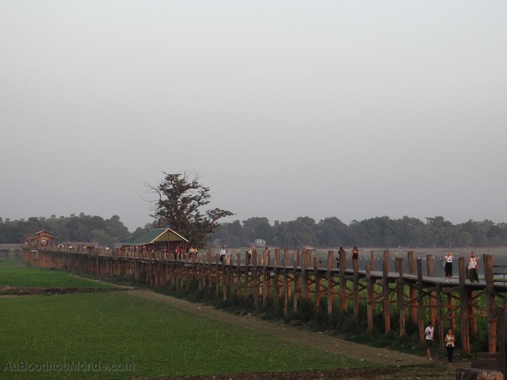 Myanmar - Pont tek U Bein