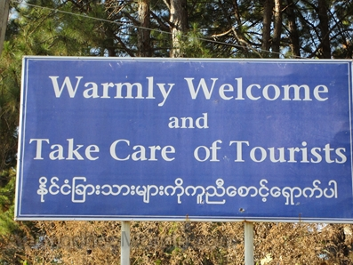 Myanmar - Touristes