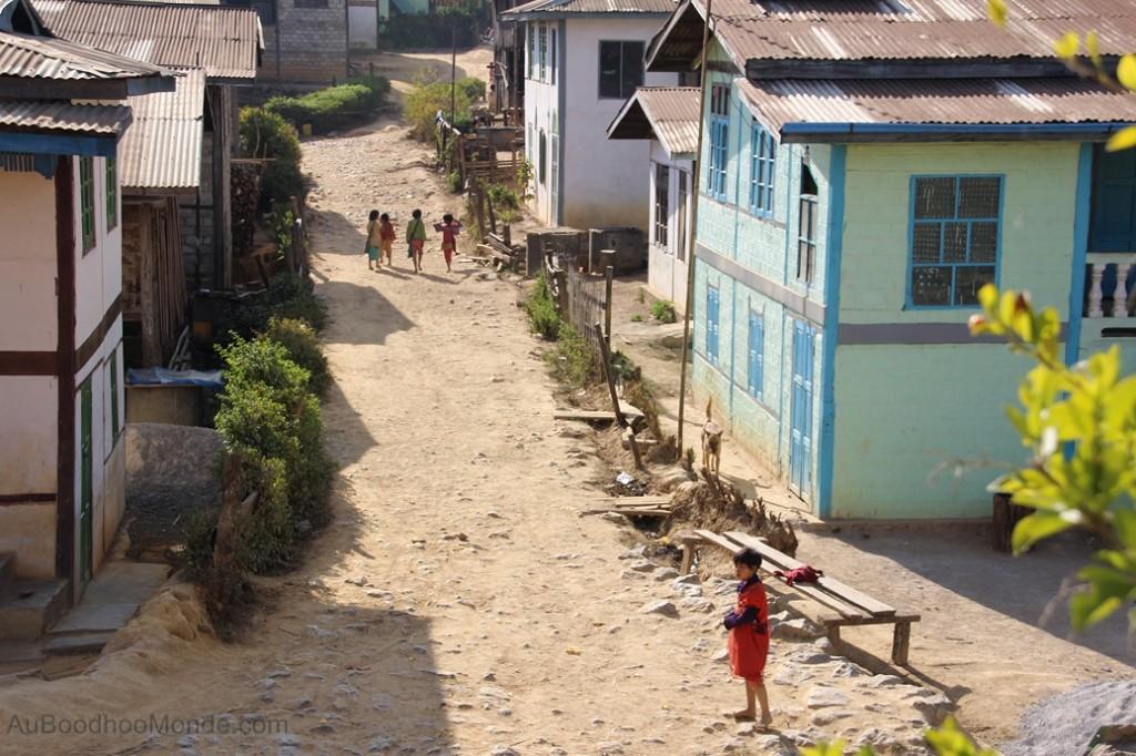 Myanmar - Villages minorites ethniques