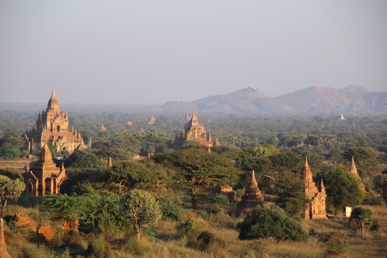 Myanmar - Vue Bagan