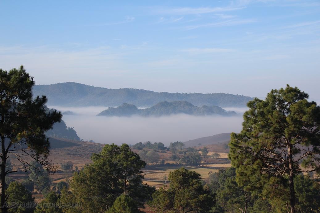 Myanmar - brume du matin