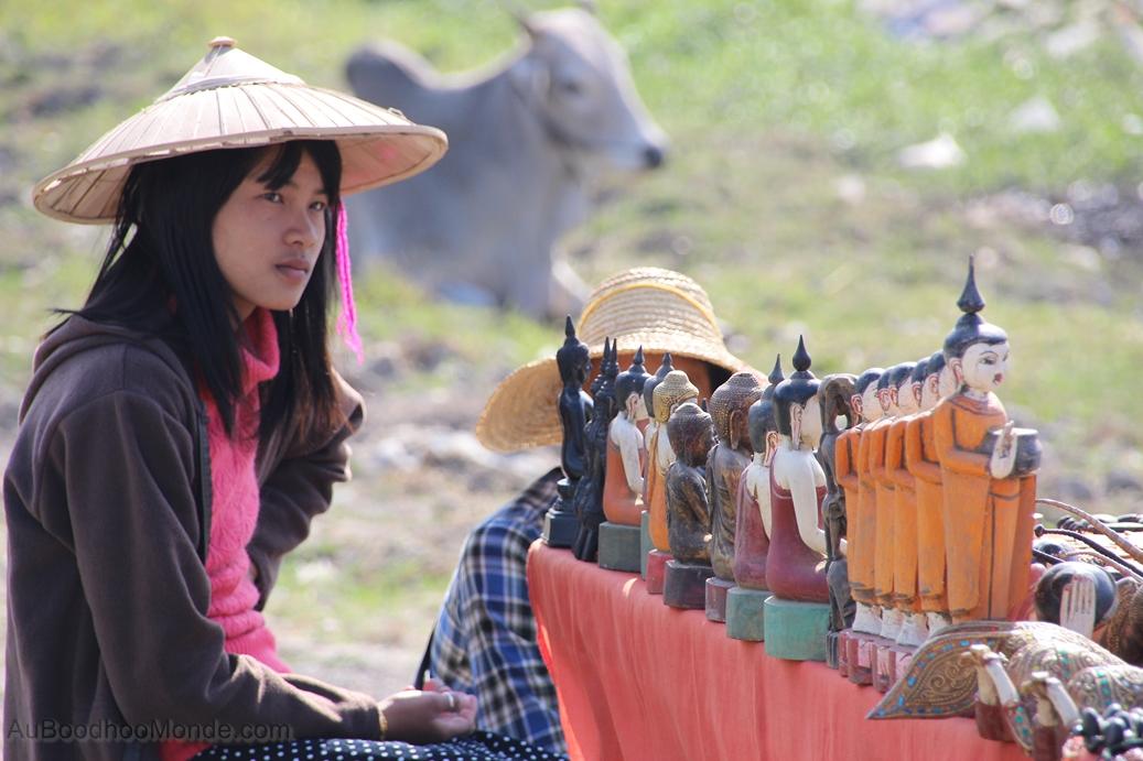 Myanmar - marche artisanal