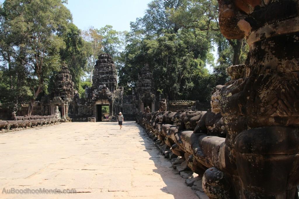 Cambodge - Angkor Entree Angkor Thom