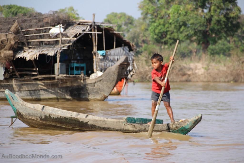 Cambodge - Angkor Kampong Phluk enfants