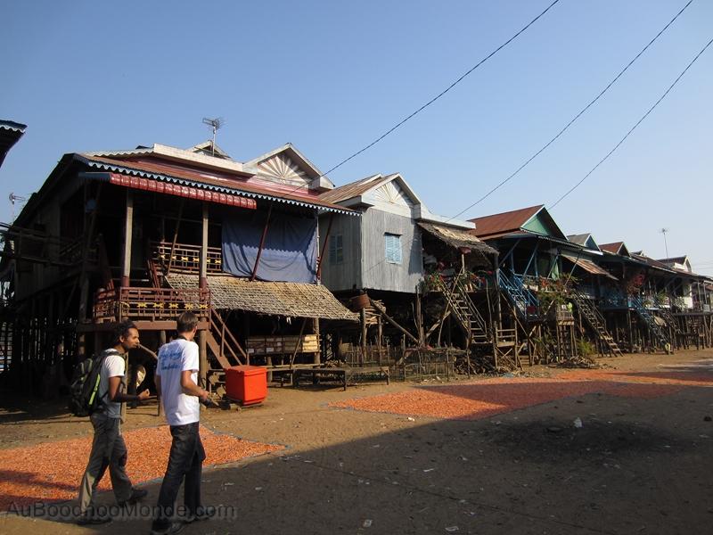 Cambodge - Angkor Kampong Phluk village