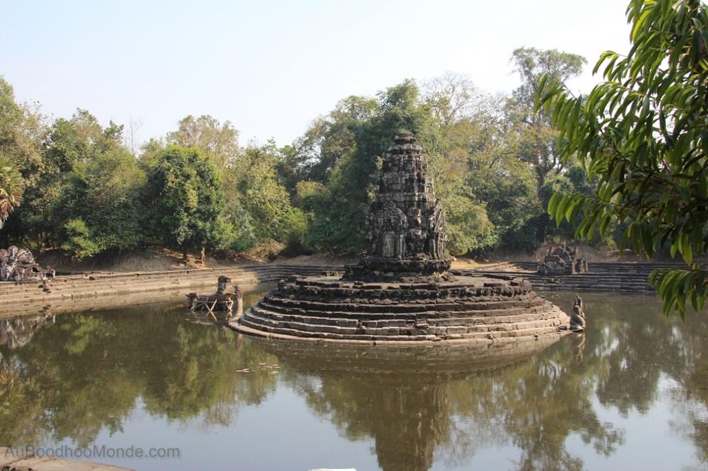 Cambodge - Angkor Preah Khan fontaine
