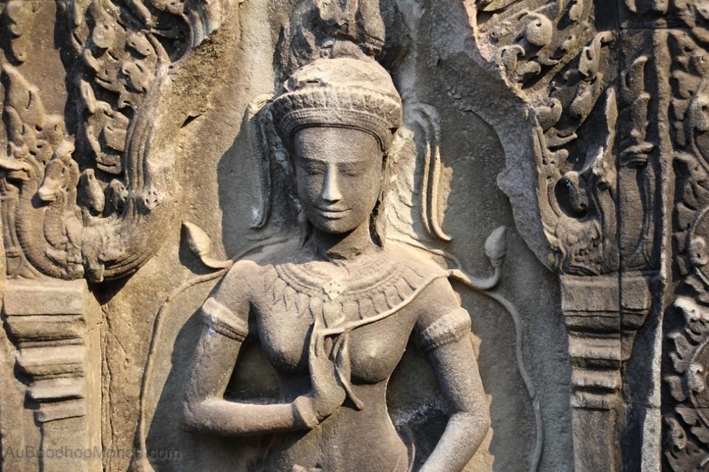 Cambodge - Angkor Ta Prohm Apsara