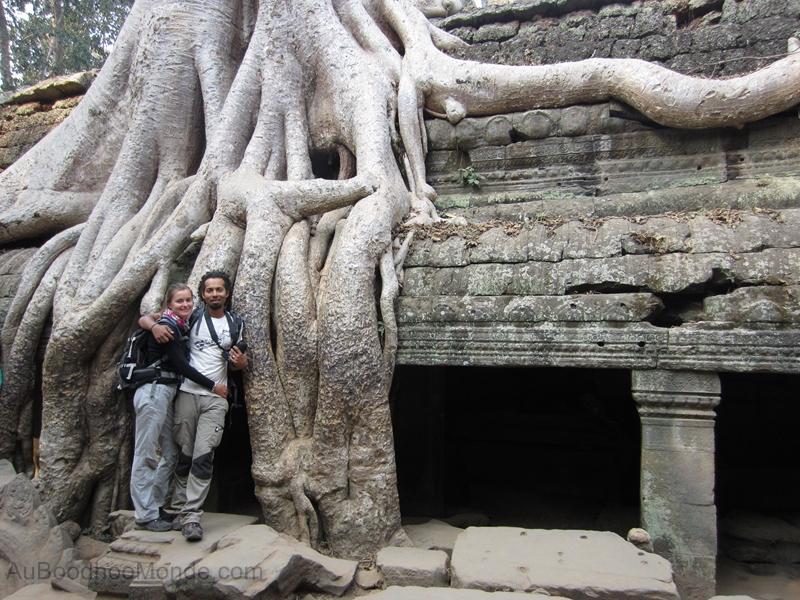 Cambodge - Angkor Ta Prohm Auboodhoomonde