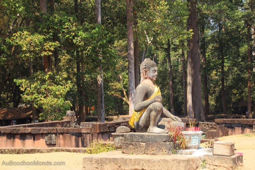 Cambodge - Angkor Terrasse du Roi Lepreux