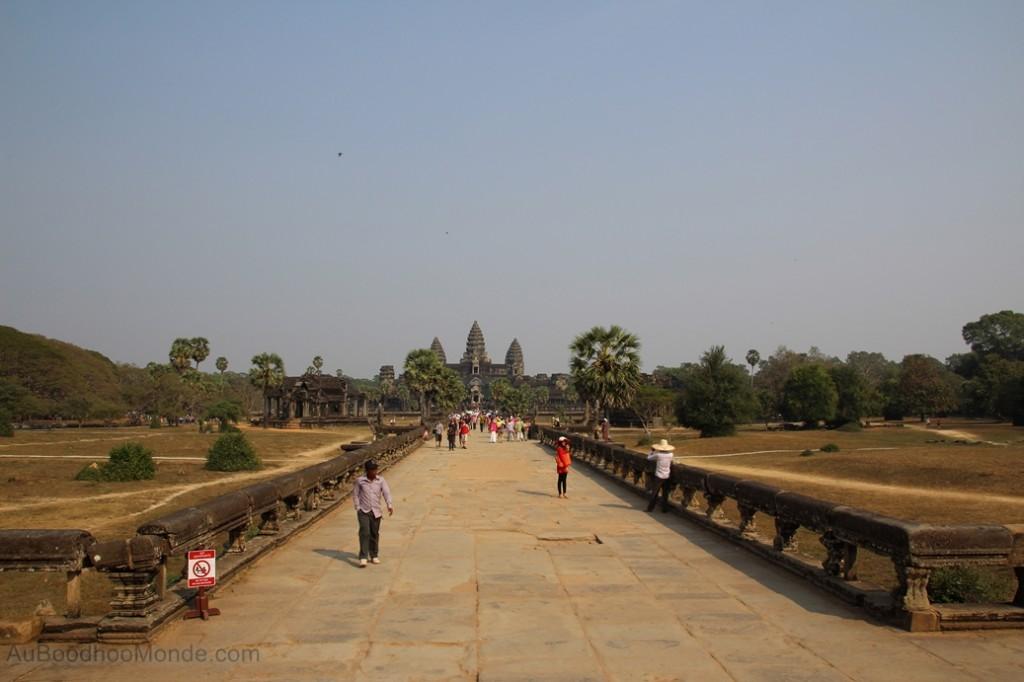 Cambodge - Angkor Wat allee