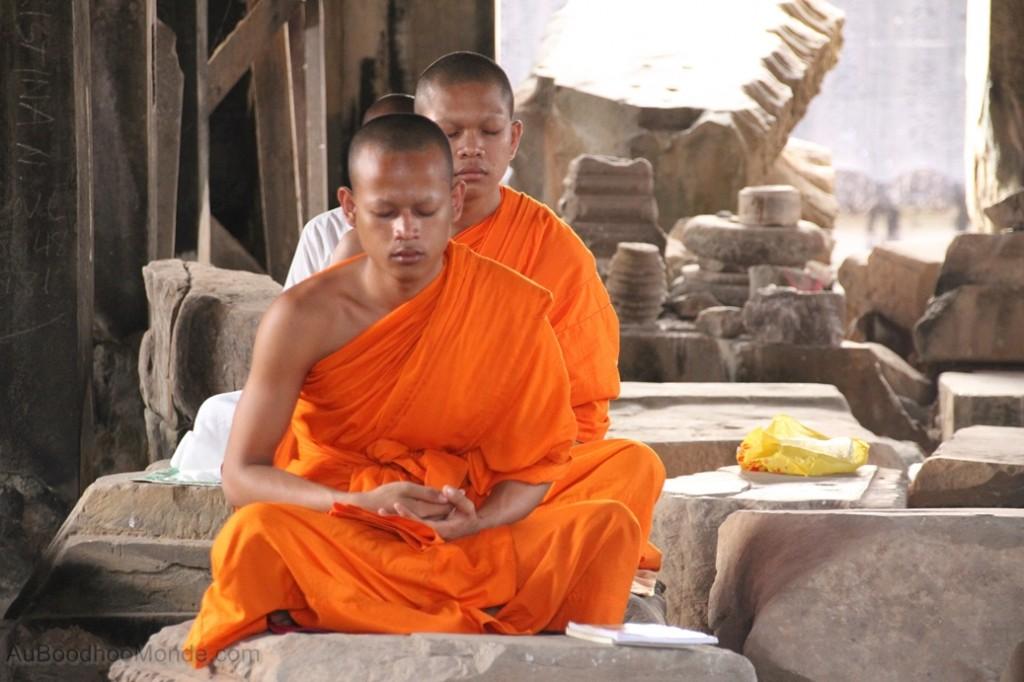 Cambodge - Angkor Wat moines