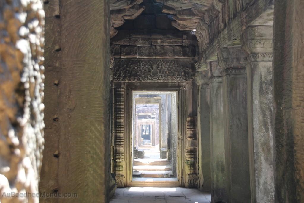 Cambodge -  Temple Angkor - Porte Preah Khan