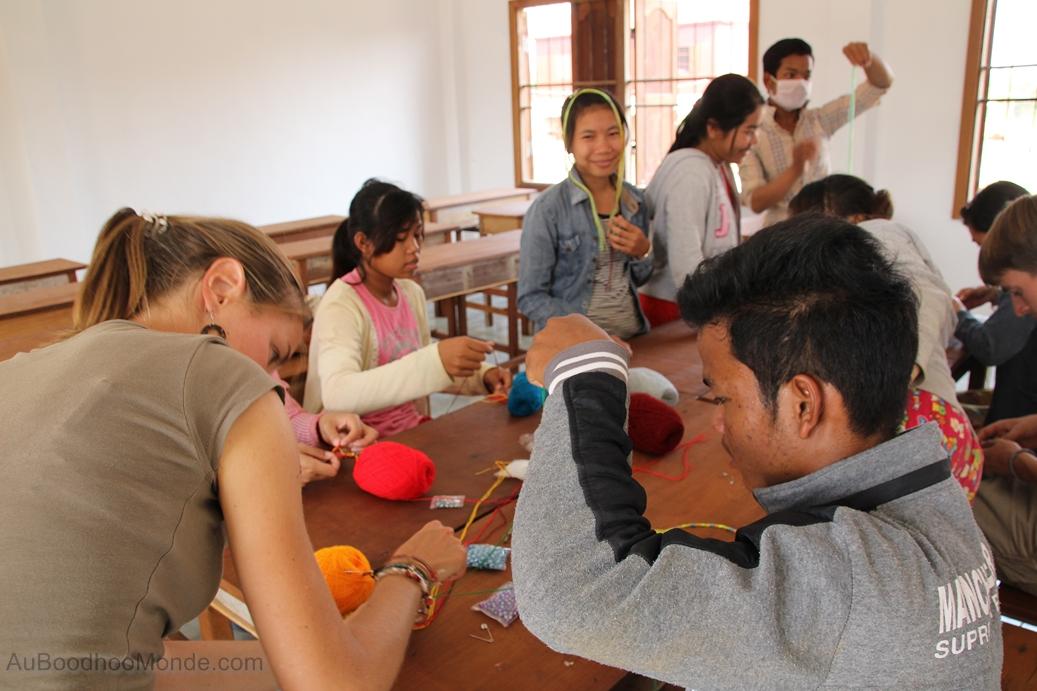 Enfants du Mékong - Atelier Bracelets bresiliens
