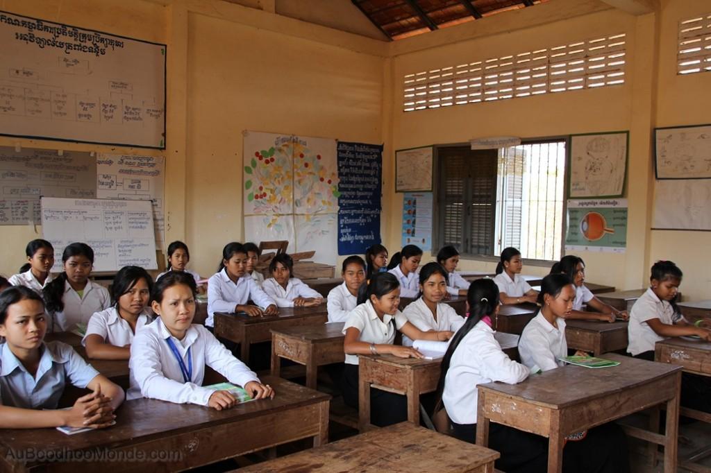 Enfants du Mékong - Elèves en classe
