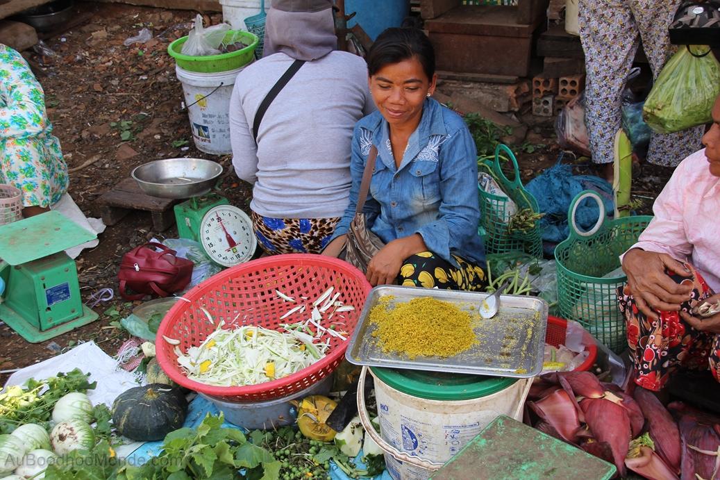 Enfants du Mékong - Herbes fraîches Cambodge