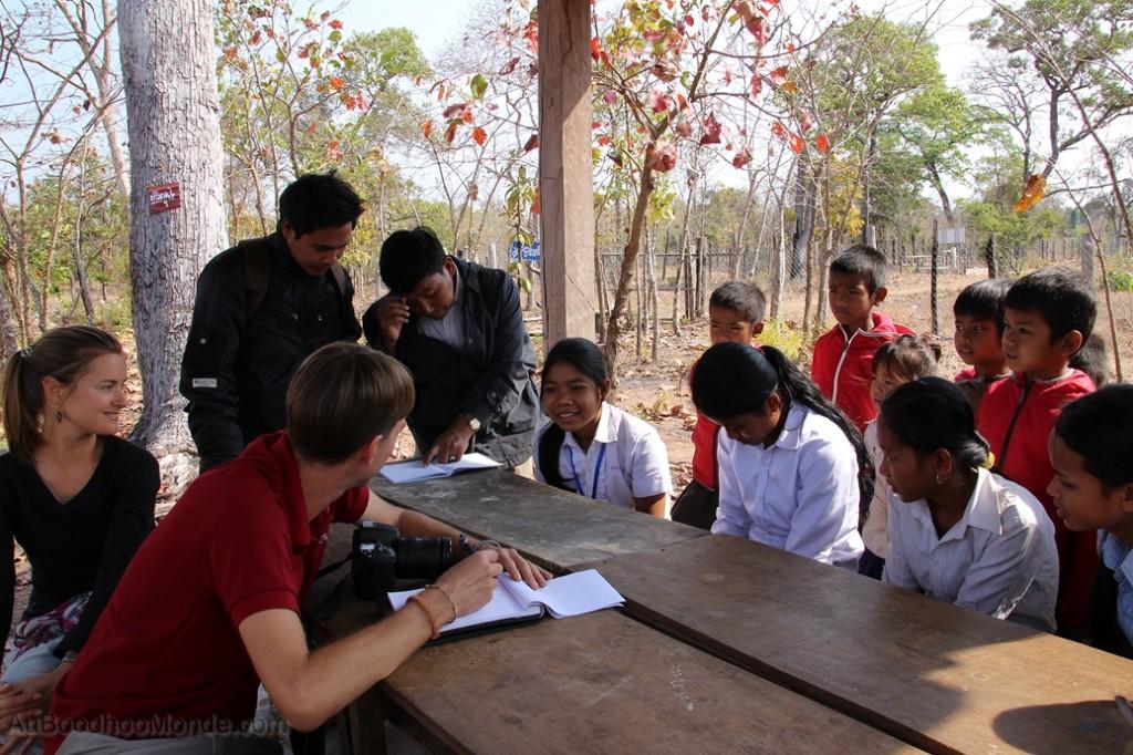 Enfants du Mekong - Rencontre des filleuls