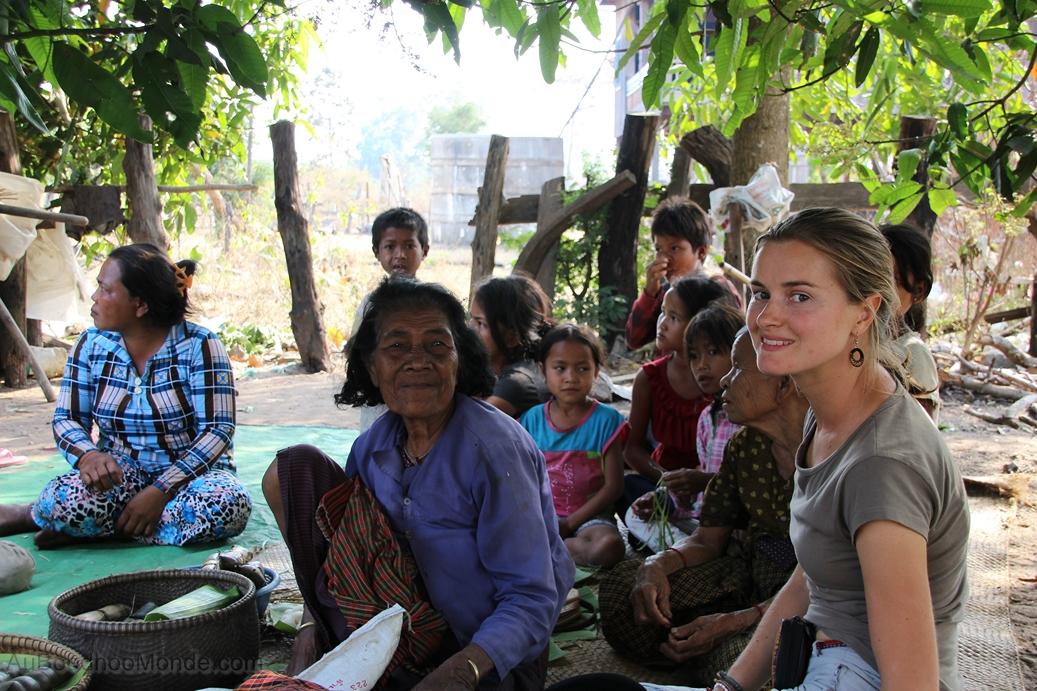 Enfants du Mékong - avec BFD dans les villages
