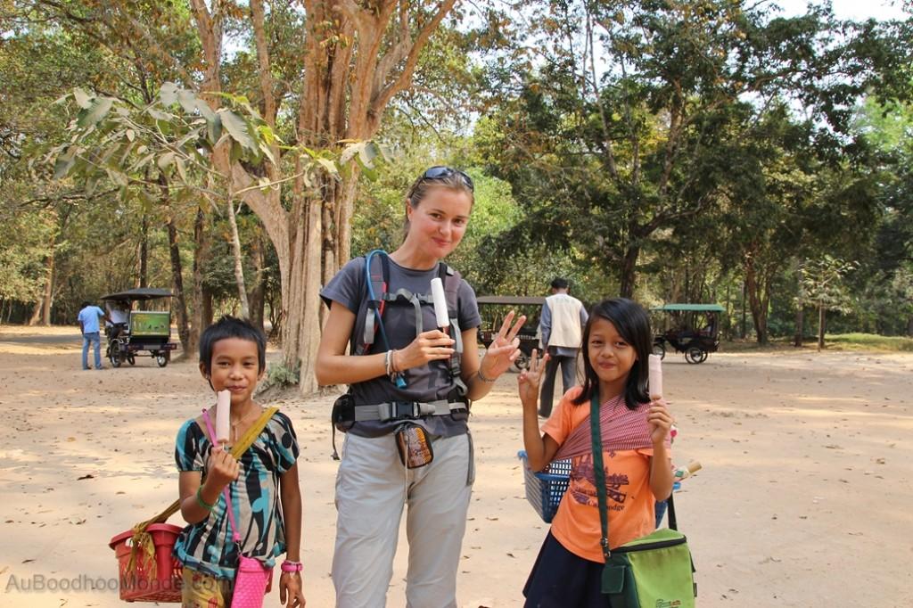 Cambodge Angkor glaces