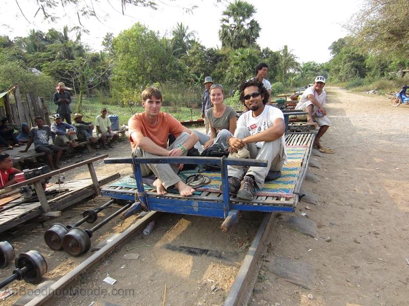 Cambodge - Bambou Train