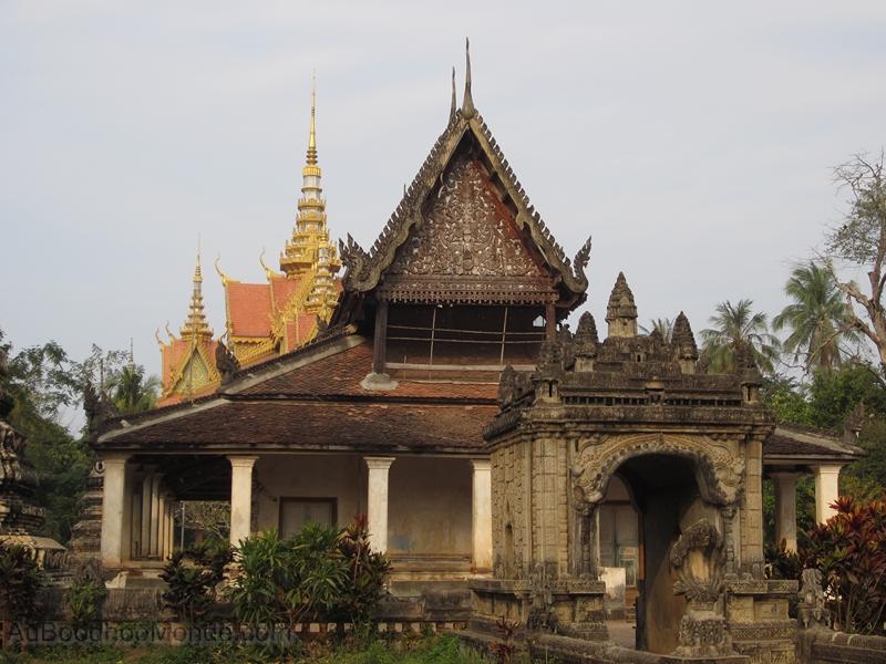 Cambodge - Pagode ancienne grenier a riz