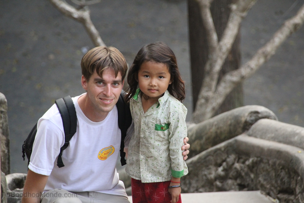Cambodge - Phnom Sampeau - Enfant