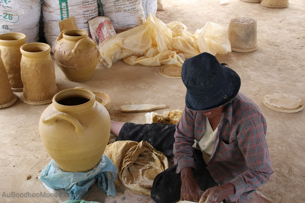 Cambodge - Poterie
