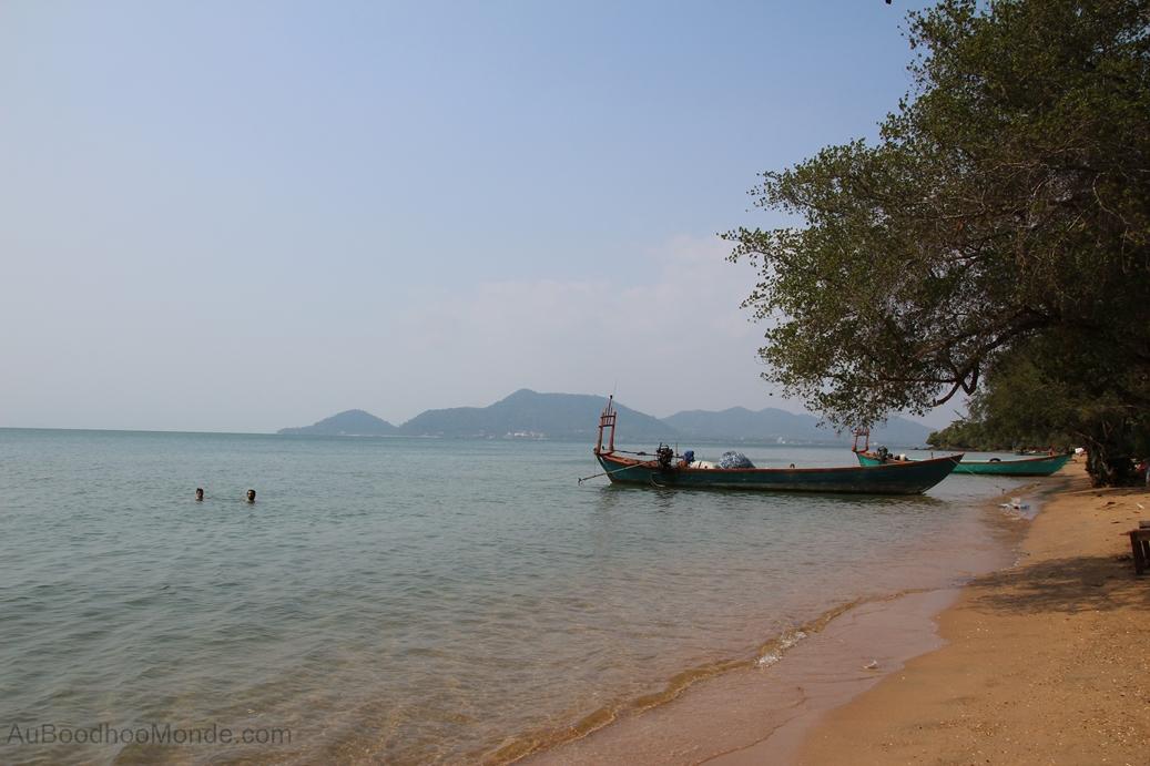 Cambodge - Ile du Lapin - Plage
