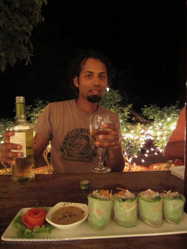 Cambodge - Kampot restaurant