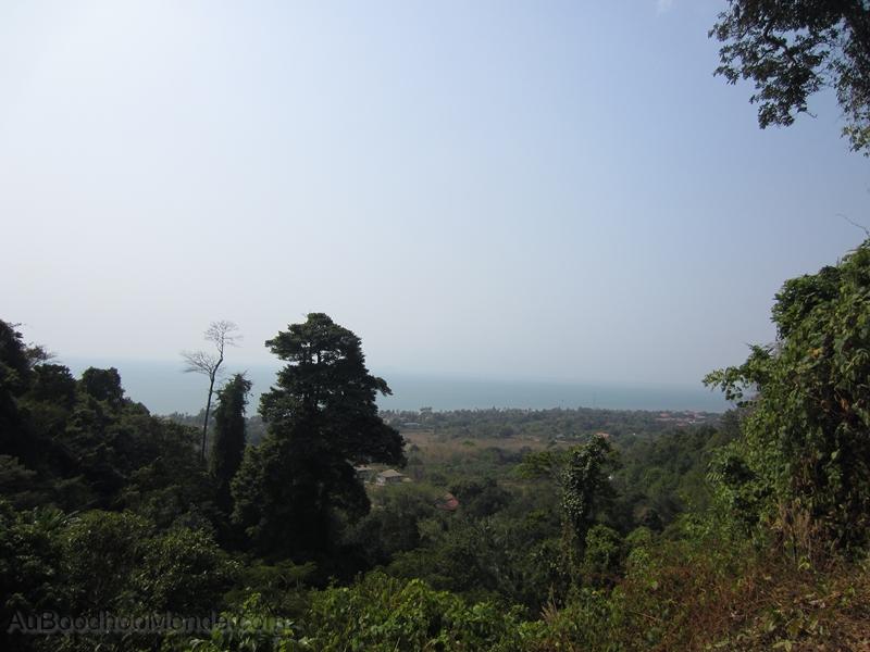 Cambodge - Kep - Vue depuis Parc National