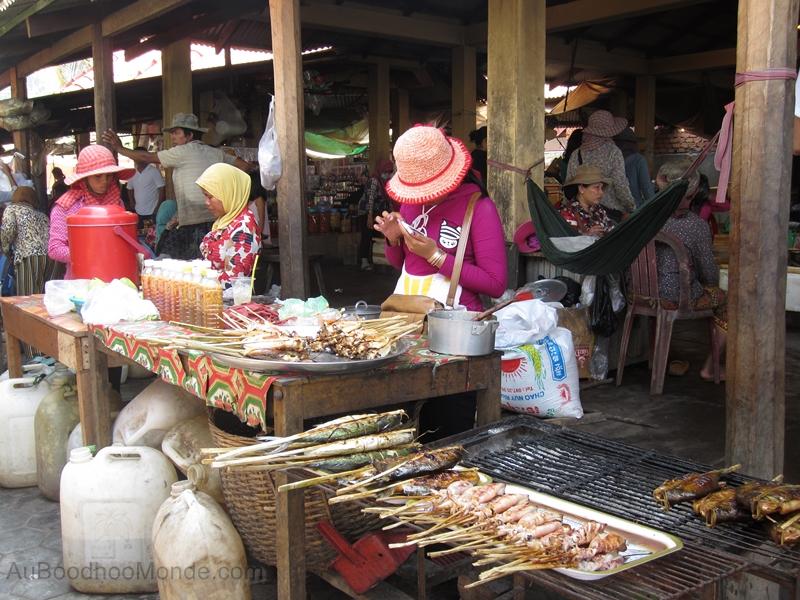 Cambodge - Marche Kep