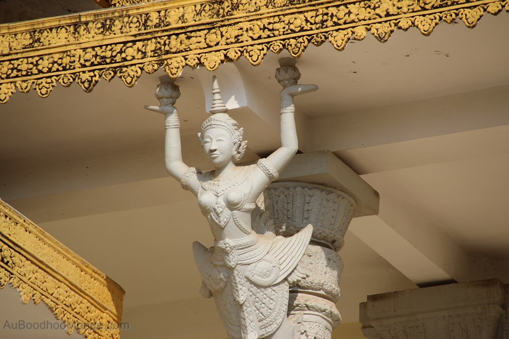Cambodge - Phnom Penh - Palais royal - Apsara