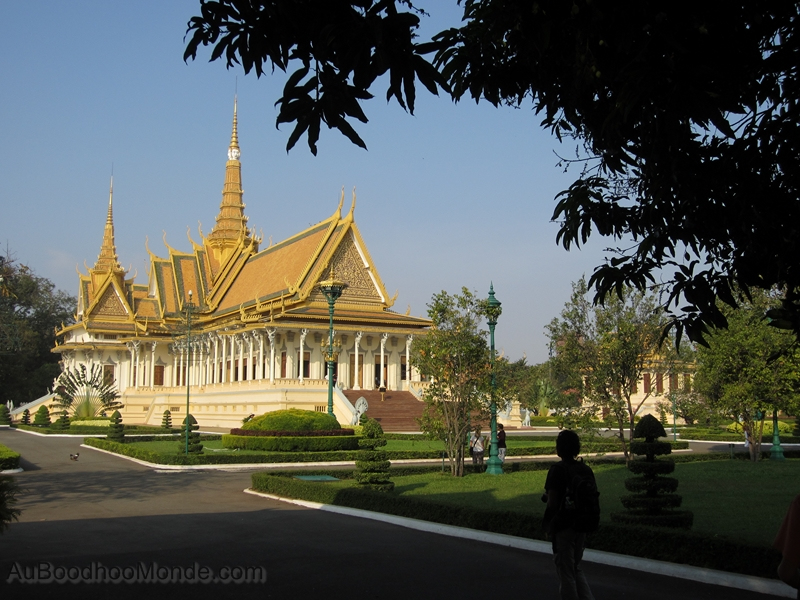 Cambodge - Phnom Penh - Palais royal