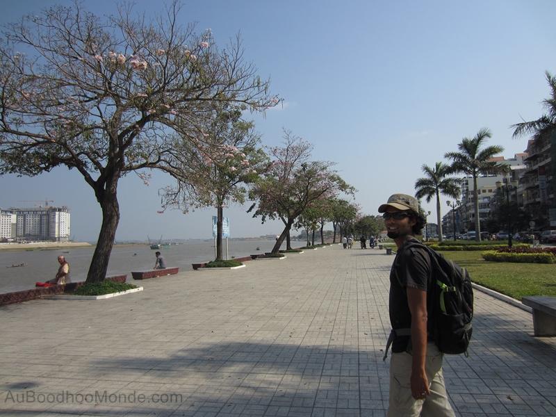 Cambodge - Phnom Penh - Promenade Tonle Sap