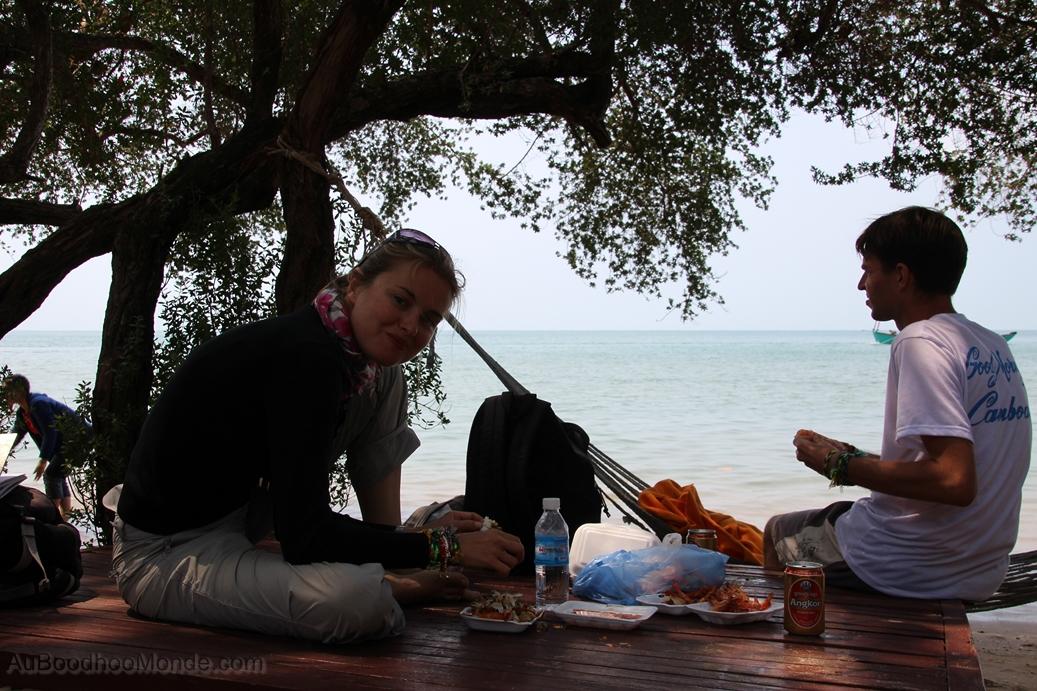 Cambodge - Repos Ile du Lapin